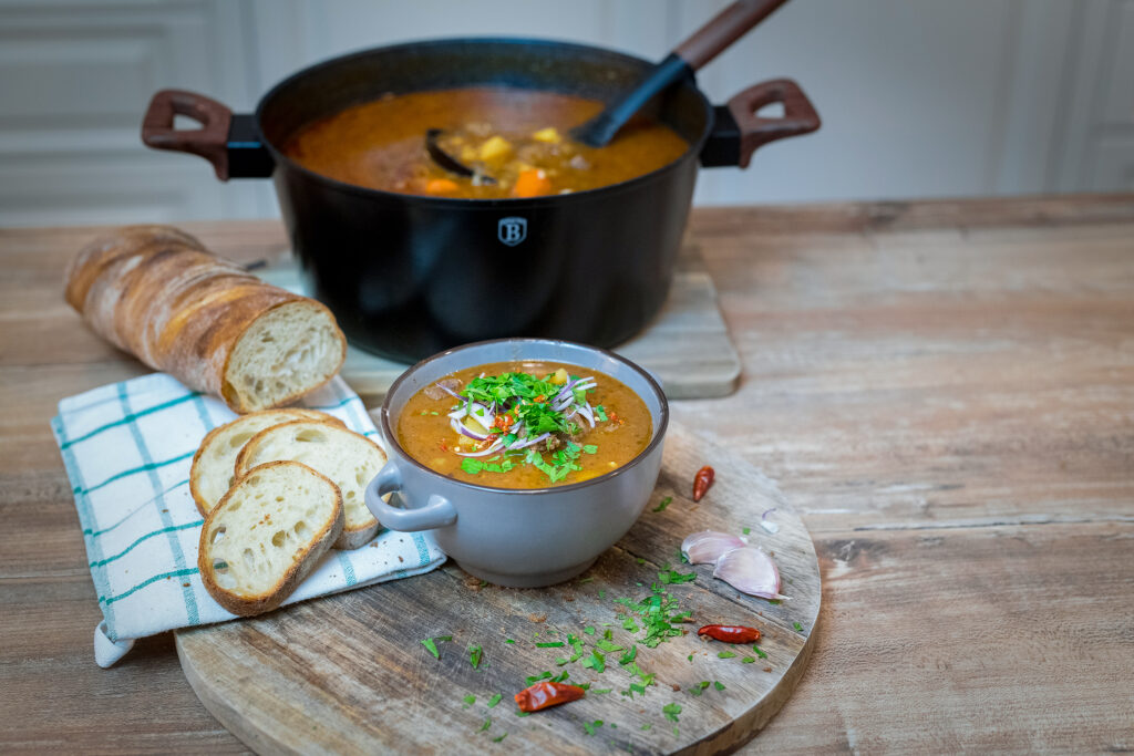 Hungarian Goulash With Beef