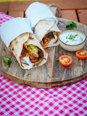 Easy Chicken Gyros Made On The Grill
